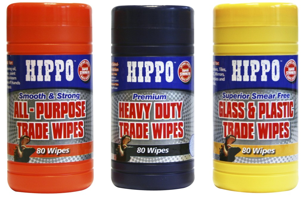 Hippo Wipes Range