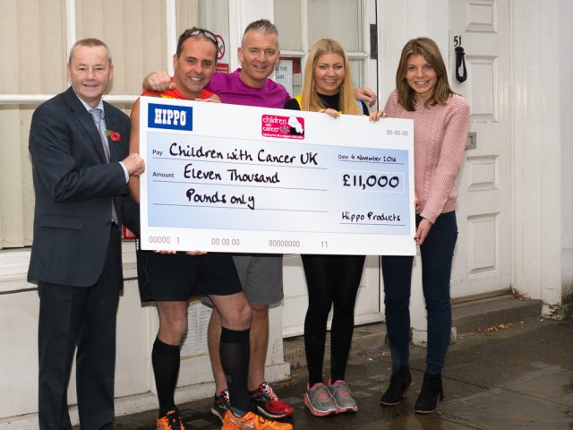 Children With Cancer Cheque