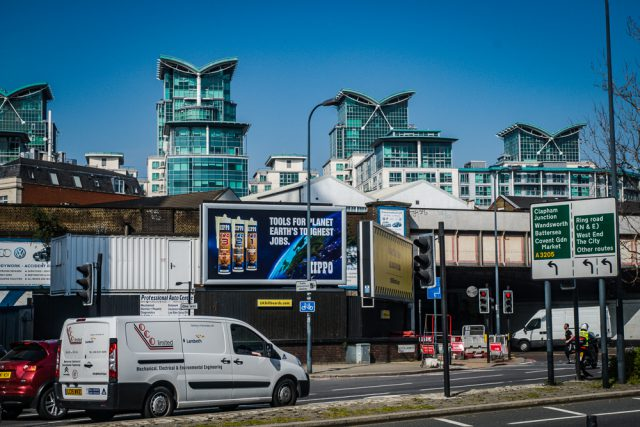 Hippo PRO Billboard London Vauxhall
