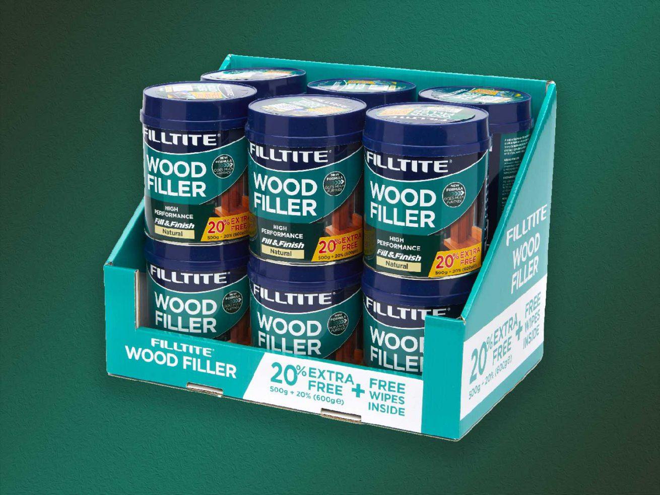 Filltite Wood Filler Promotion Pack