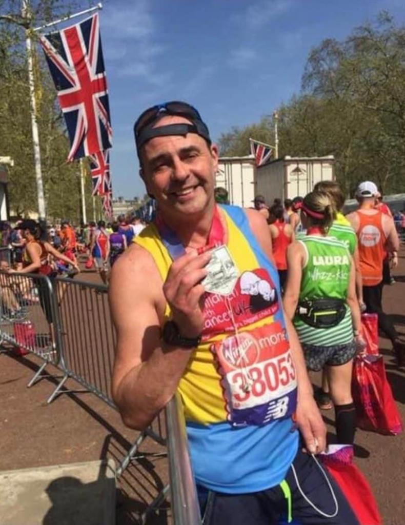Guy Malam Finishes London Marathon